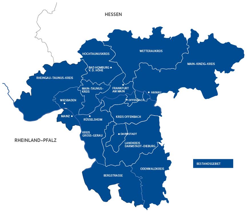 Rhein Main Gebiet Karte Goudenelftal